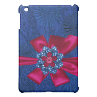 Faux and jeweled  case for the iPad mini