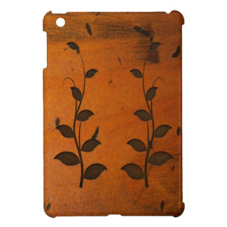 Faux Baltic Pine Wood Carving Vines iPad Mini Case