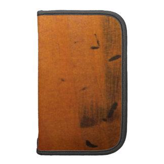Faux Baltic Pine Wood Wooden Custom Folio Planner Planners