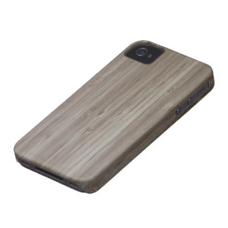 """""""faux bamboo"""" iPhone4 Case-Mate ID CASE"""