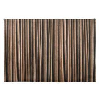 faux bamboo placemats