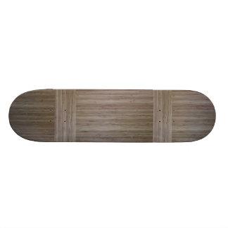 """""""faux bamboo"""" SKATEBOARD DECK"""