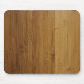 Faux Bamboo Wood Mousepad