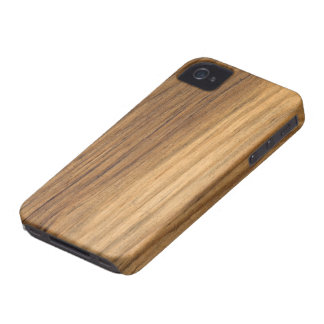 Faux Barn Wood iPhone 4 Case-Mate Barely There
