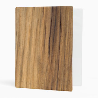 Faux Barn Wood Mini Binder