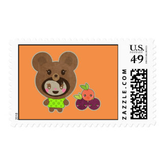 Faux Bear Without a Picnic Basket Stamp