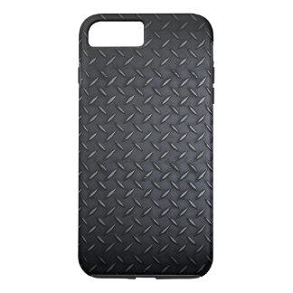 Faux Black Diamond Plated Sheet Metal iPhone 8 Plus/7 Plus Case