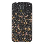 Faux Black & Gold Seed Samsung Phone Case Cases For Galaxy S5