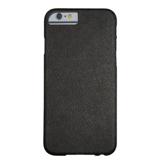 Faux Black Leather iPhone 6 case