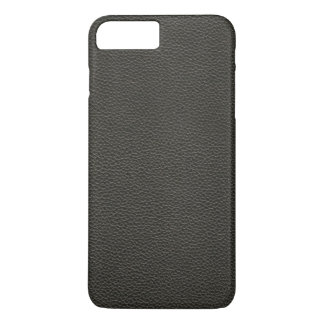Faux Black Leather Texture iPhone 7 Plus Case