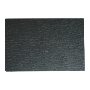 Faux Black Leather Texture Placemat at Zazzle