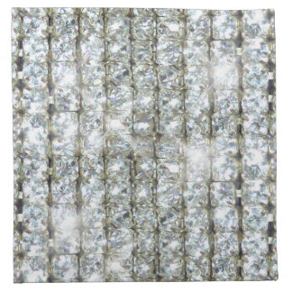 Faux Bling Cloth Napkin
