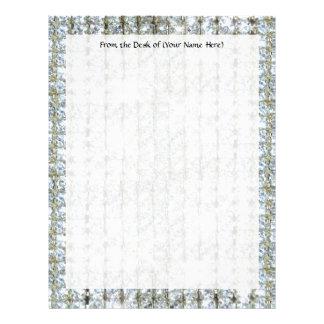 Faux Bling Custom Letterhead Stationery Paper