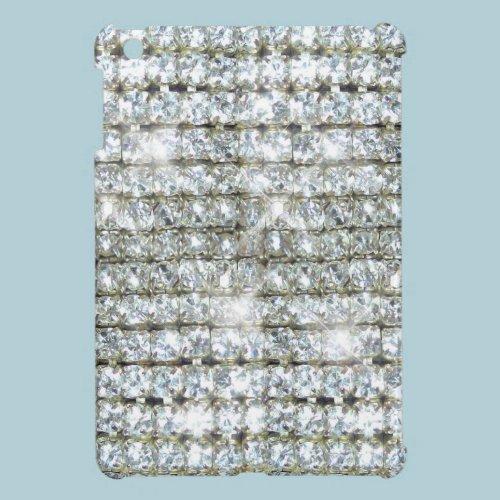 Faux Bling Diamond Print iPad Mini Covers