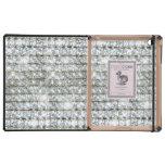 Faux Bling Diamond Rhinestones iPad Folio Case