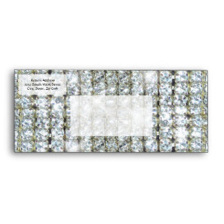Faux Bling Envelope