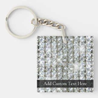Faux Bling Keychain