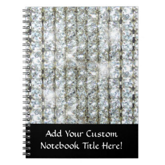 Faux Bling Notebook