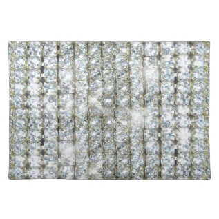 Faux Bling Placemat at Zazzle