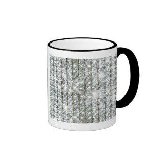 Faux Bling Ringer Mug