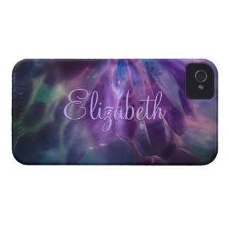 Faux Blown Glass Custom Name iPhone 4 Case