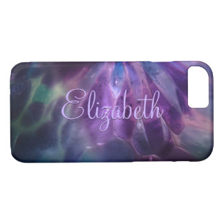 Faux Blown Glass Custom Name iPhone 8/7 Case