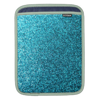 Faux Blue Glitter Sleeve For iPads