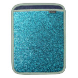 Faux Blue Glitter Sleeves For iPads