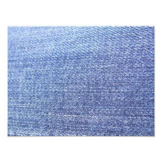 Faux Blue Jeans Background Photo