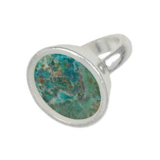 Faux Blue Stone Ring