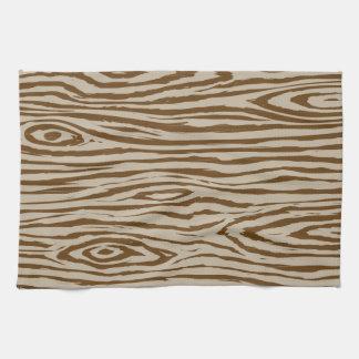 Faux Bois - Wood Grain Design Kitchen Towel