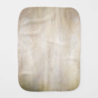 Faux Bois Wooden Boards Baby Burp Cloth
