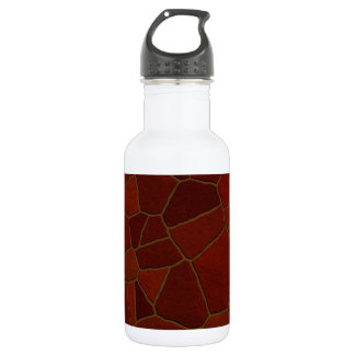 Faux Brick Chips Water Bottle