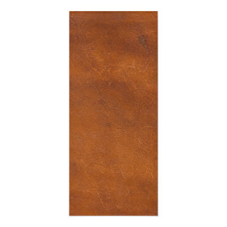 Faux Brown Leather Texture Card