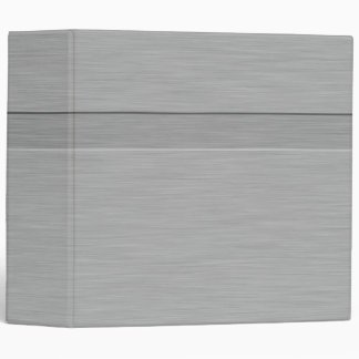 Faux Brushed Metal with Groove Binder