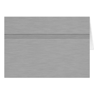 Faux Brushed Metal with Groove Card