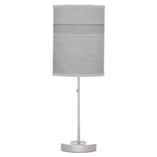 Faux Brushed Metal with Groove Desk Lamps