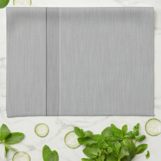 Faux Brushed Metal with Groove Hand Towel