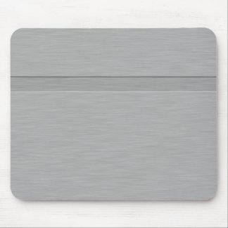 Faux Brushed Metal with Groove Mouse Pad