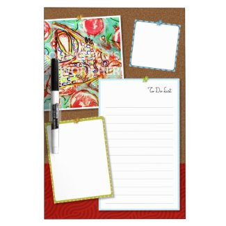 Faux Bulletin Dry Erase Board $25.65