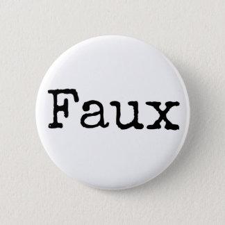 Faux Button (black)