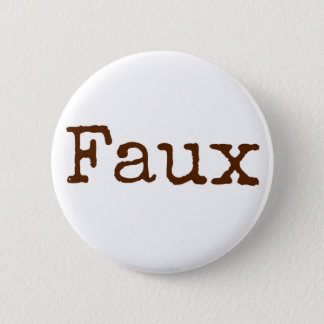 Faux Button (brown)