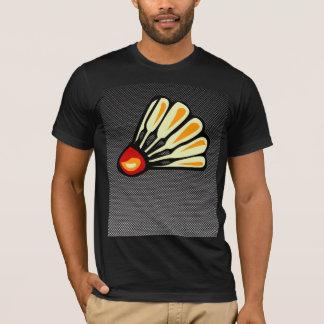 Faux Carbon Fiber Badminton T-Shirt