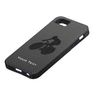 Faux Carbon Fiber Cycling iPhone SE/5/5s Case
