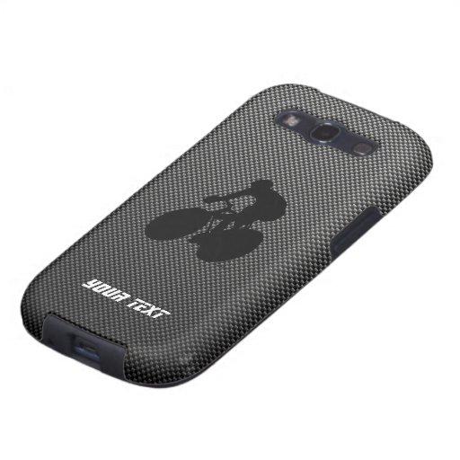 Faux Carbon Fiber Cycling Samsung Galaxy SIII Case