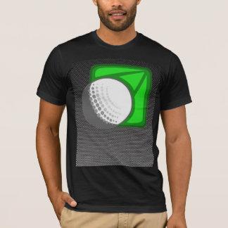 Faux Carbon Fiber Golf Ball T-Shirt