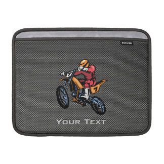 Faux Carbon Fiber Motocross Sleeve For MacBook Air