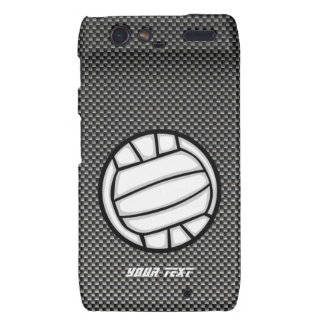 Faux Carbon Fiber Volleyball Droid RAZR Cover