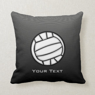 Faux Carbon Fiber Volleyball Pillow