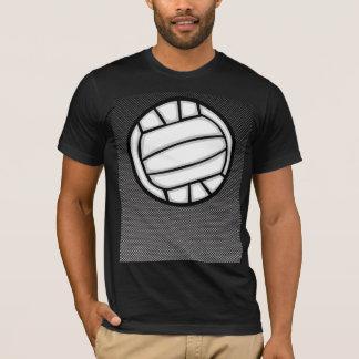 Faux Carbon Fiber Volleyball T-Shirt